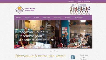 Centre d'aide à la Famille - Site Web avec MODx