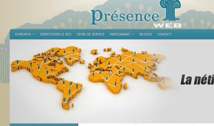 Site de Présence Web