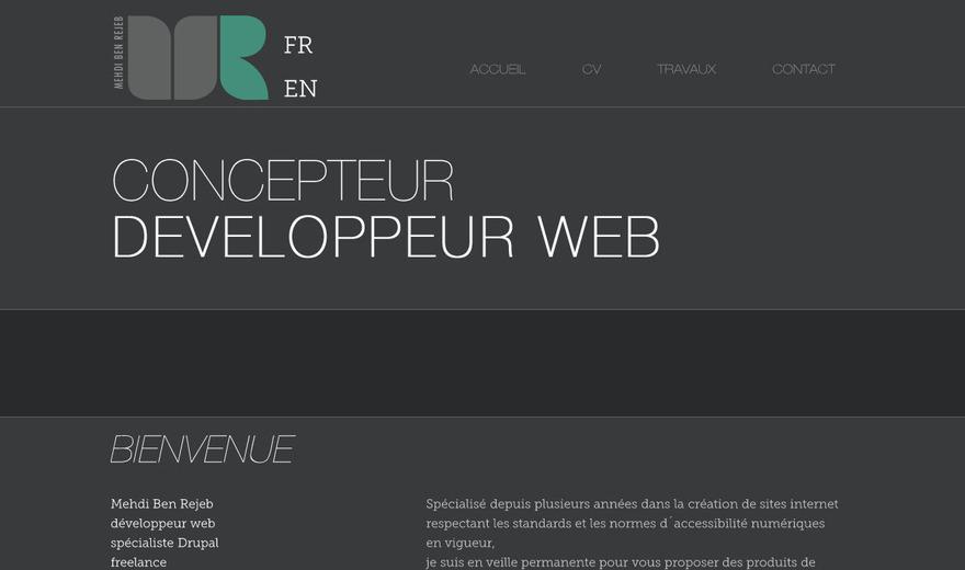 développeur web freelance (mon site web)