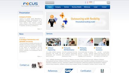 Site développé avec Drupal 6