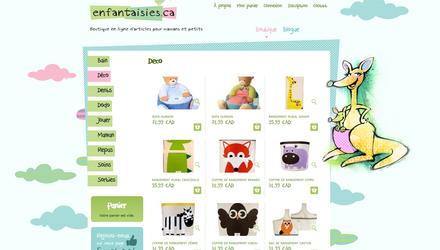Enfantaisies.ca - Boutique en ligne