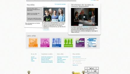 Design du site de la CSRS