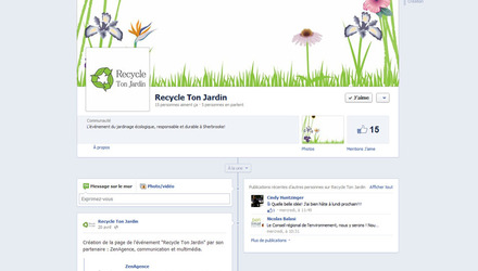 Média sociaux - Recycle ton jardin