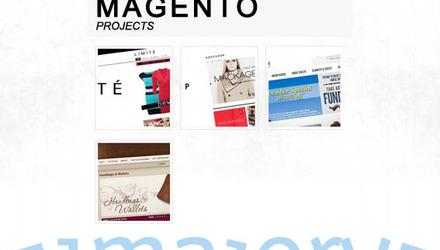 Nos projets avec MAGENTO