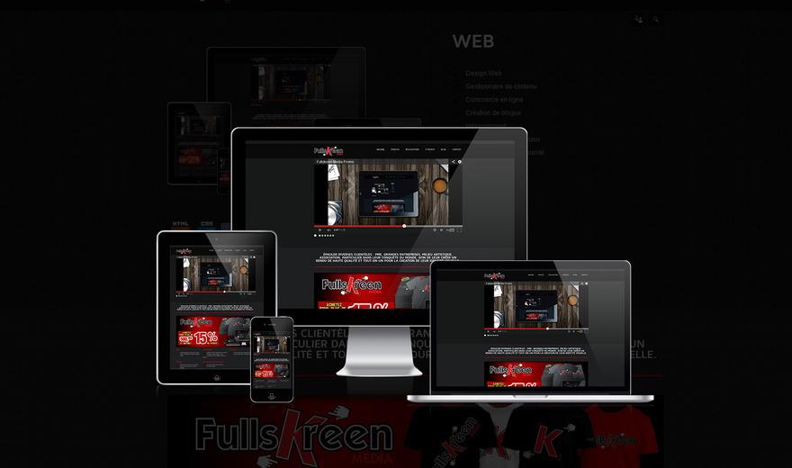 Fullskreen media