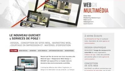 Page Web de Pogz
