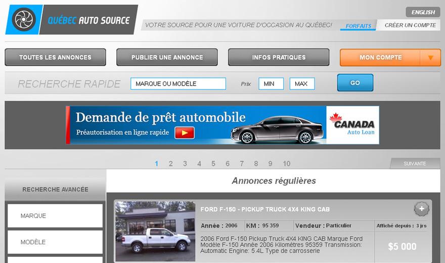 Quebec Auto Source