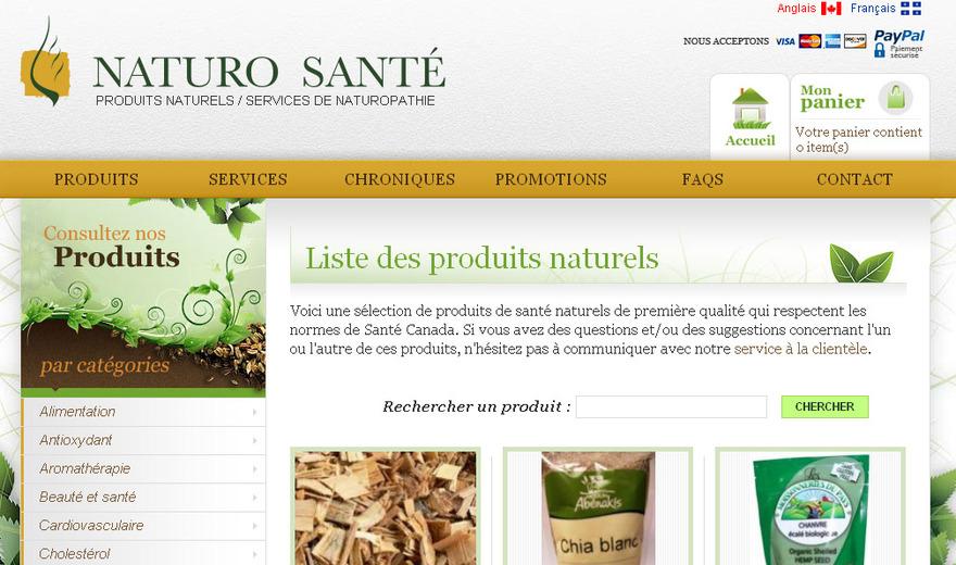 Naturo Santé - Produits naturels et service de naturopathe