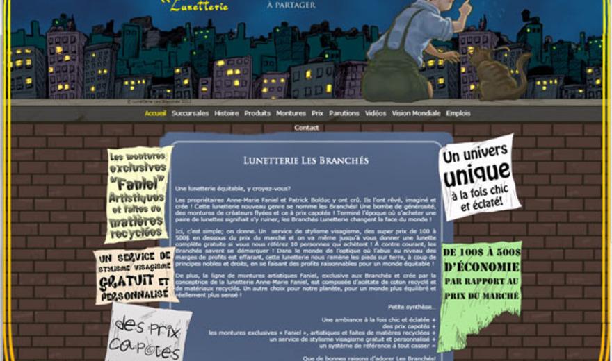 Lunetterie Les Branchés
