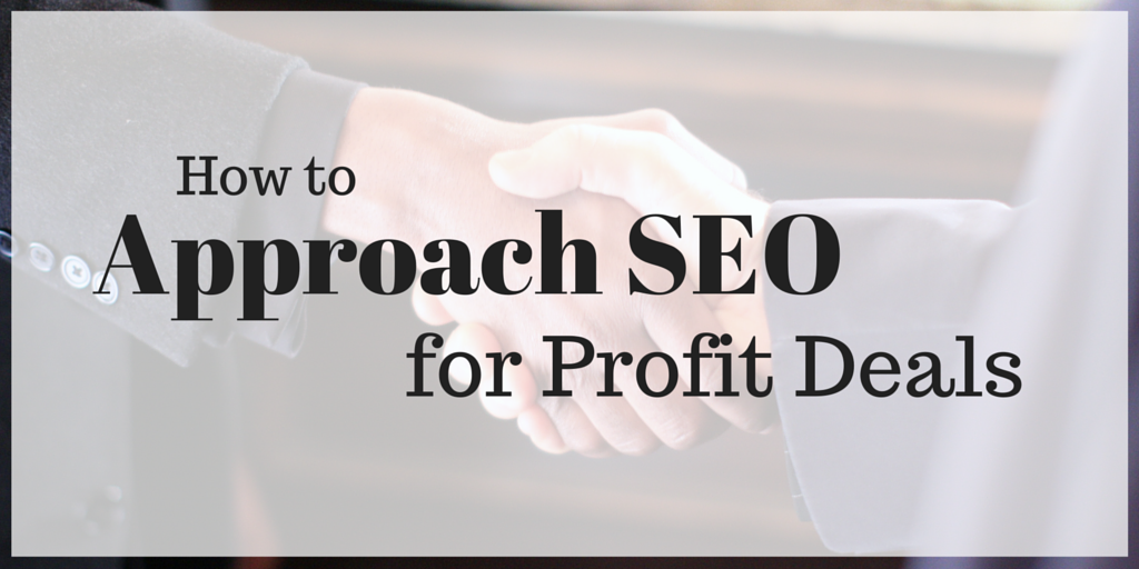 seo for profit deals