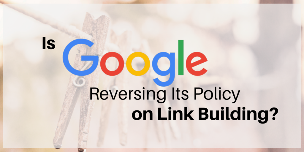 google link building policy