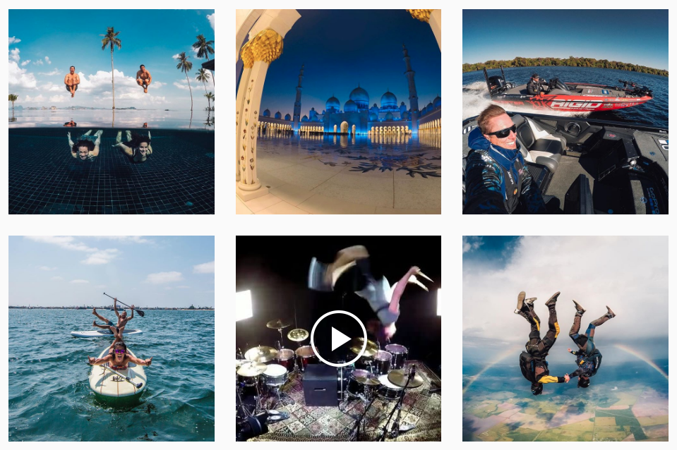 GoPro Instagram account