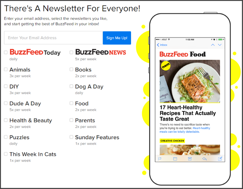 buzzfeed-email-marketing-campaigns