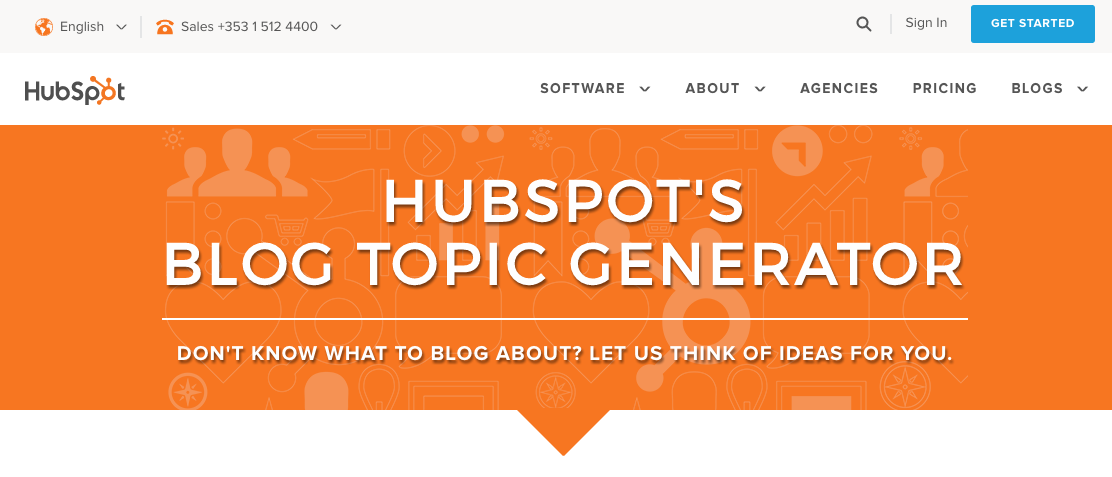 writing topic generator