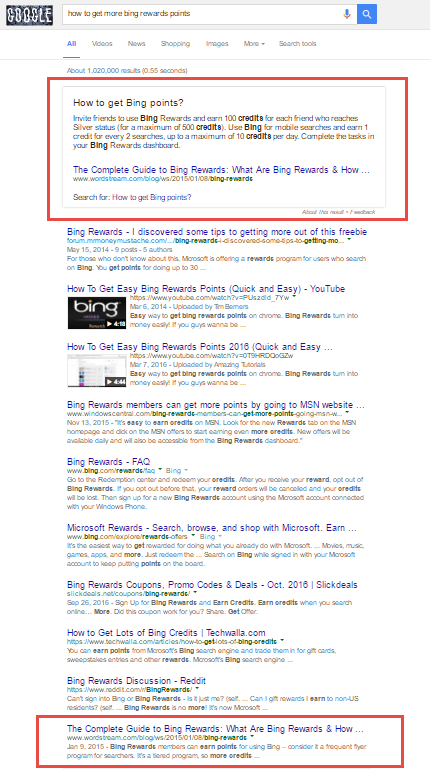 Google Featured Snippets - What Makes Them Appear - AWR