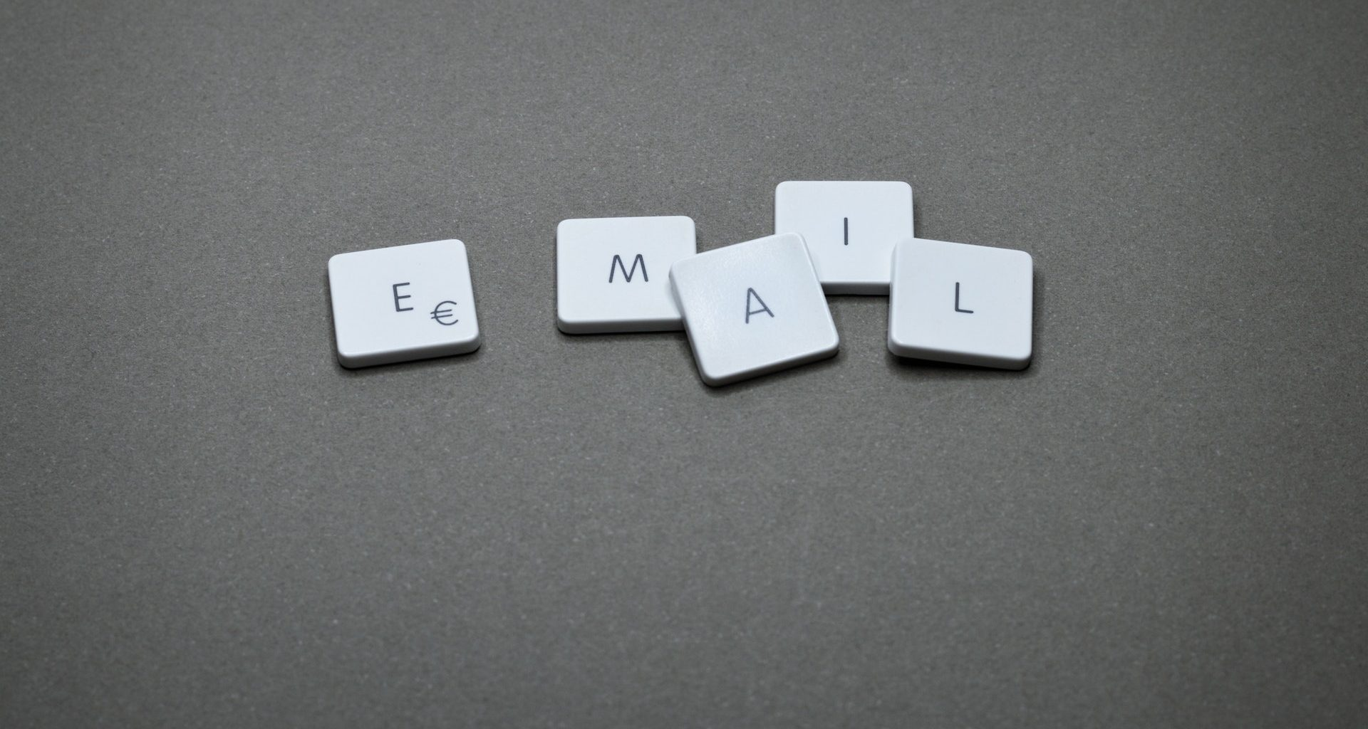 email. letter blocks