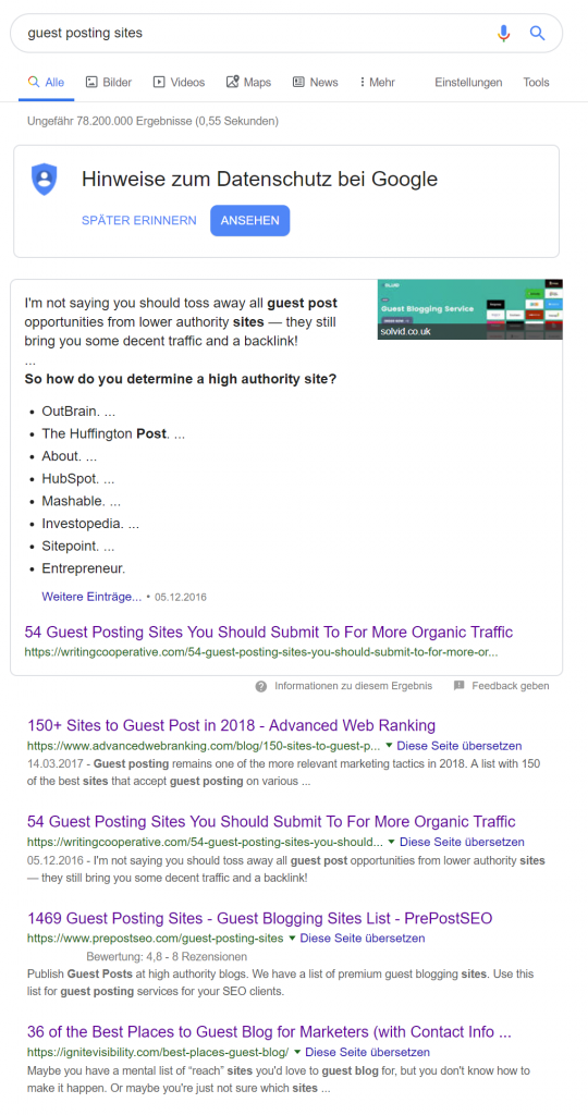 Advanced Web Ranking, HTML SERP view.