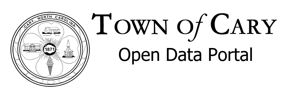 Town of Cary Open Data