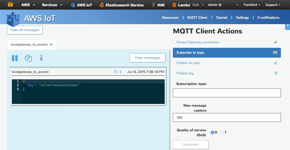 How to Bridge Mosquitto MQTT Broker to AWS IoT | The