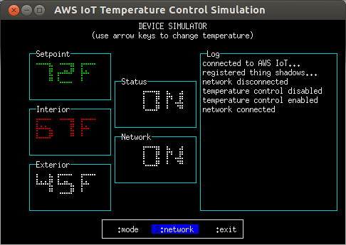 temperature-control.js, 'device' mode, 'heating' operating state
