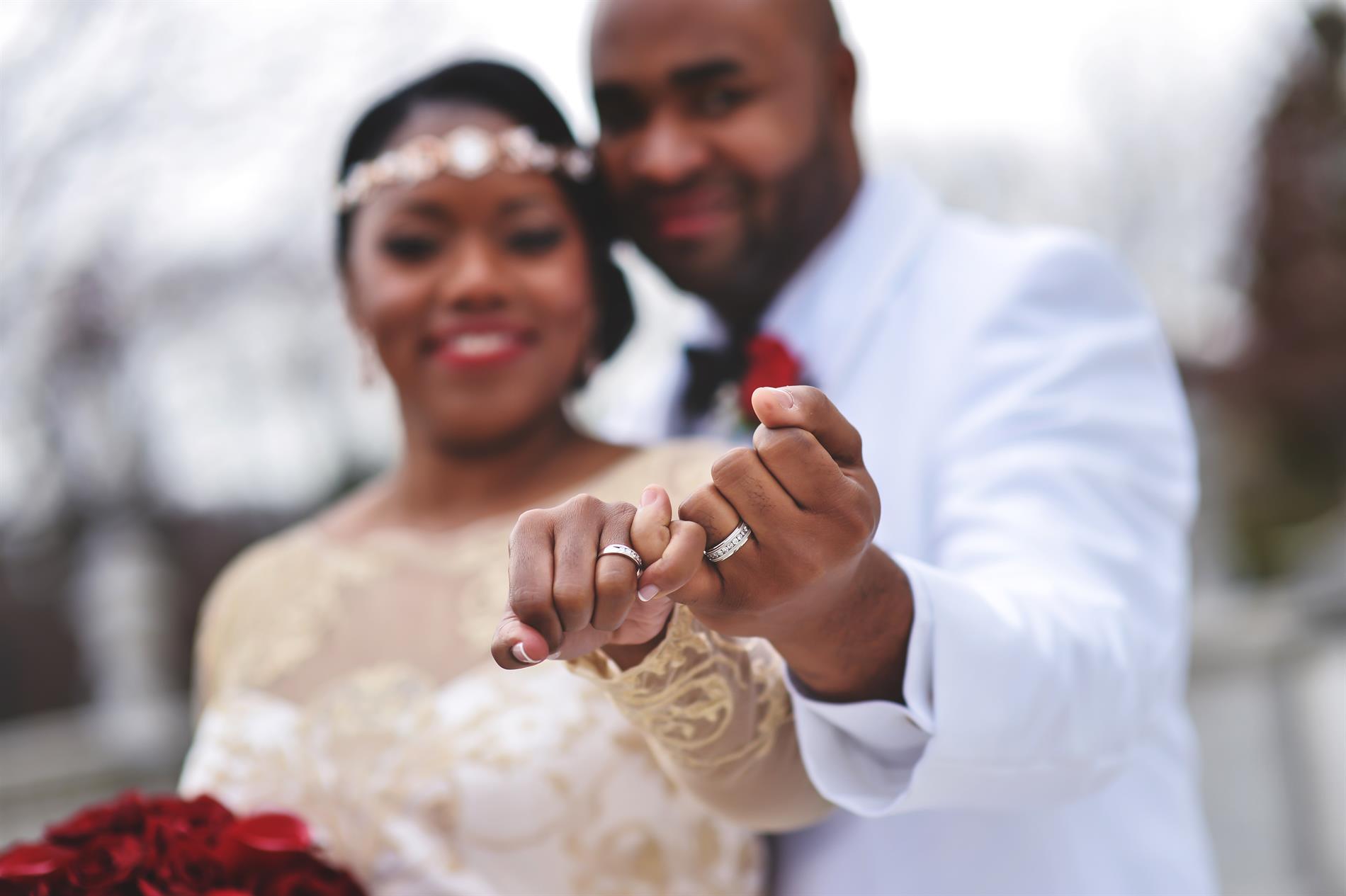 Courtney and Rashad Wedding Photos