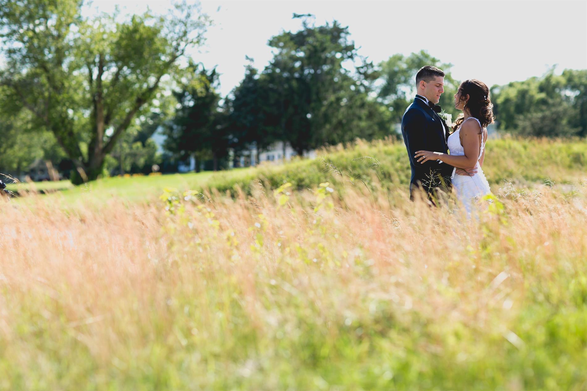 Adrienne & Andrew Wedding Photos