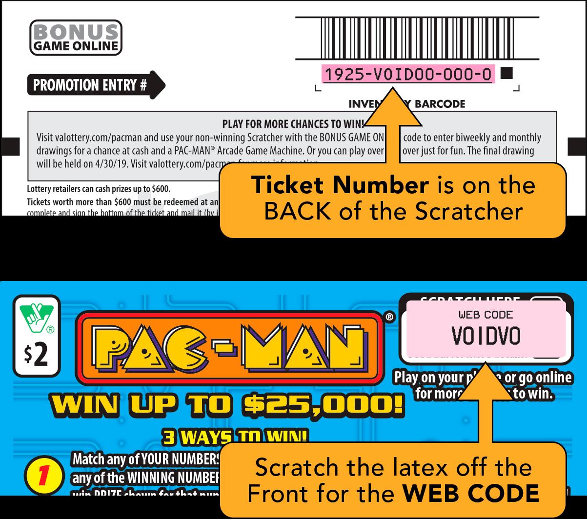 Virginia Pacman Rules