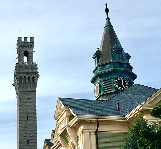 Pilgrim Monument & Provincetown Town Hall