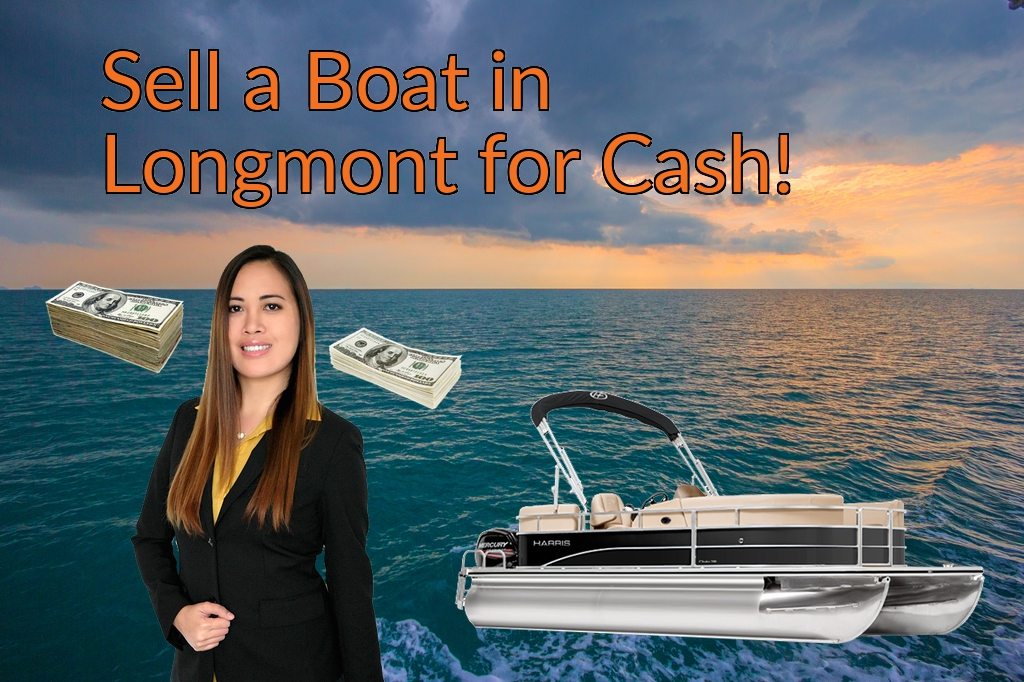 Sell a Boat, Watercraft, Jet-Ski, or Ski-Doo in Longmont for Cash Fast!