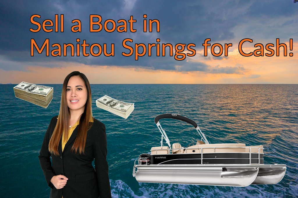 Sell a Boat, Watercraft, Jet-Ski, or Ski-Doo in Manitou Springs for Cash Fast!