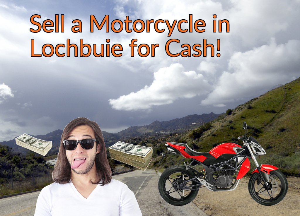 Sell a Motorcycle or Moped in Lochbuie for Cash Fast!