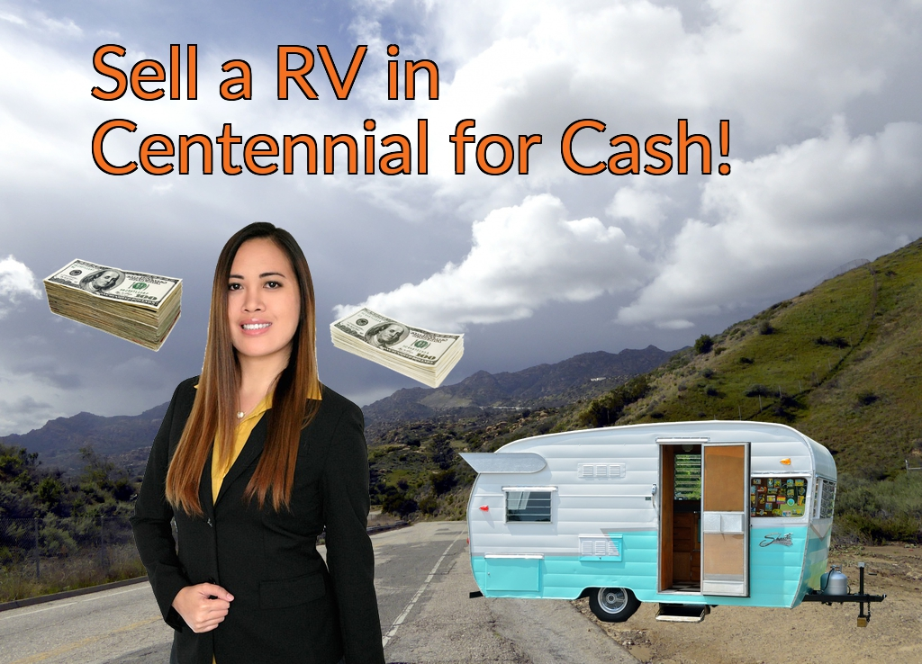 Sell a RV, Camper, Trailer, Pop-up, Teardrop, Motor Home, 5th Wheel, or Truck Topper in Centennial for Cash Fast!