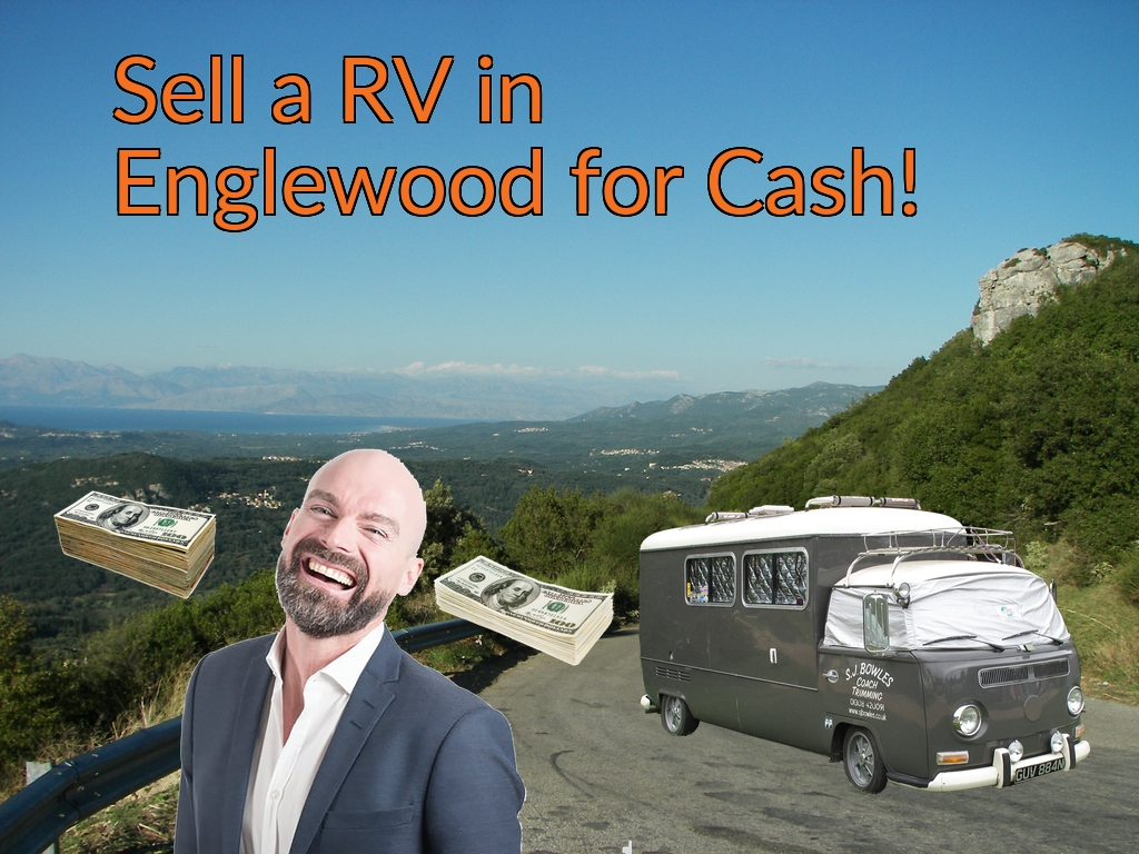 Sell a RV, Camper, Trailer, Pop-up, Teardrop, Motor Home, 5th Wheel, or Truck Topper in Englewood for Cash Fast!
