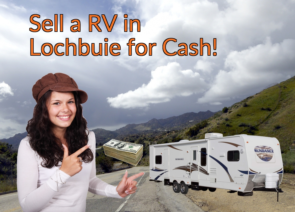 Sell a RV, Camper, Trailer, Pop-up, Teardrop, Motor Home, 5th Wheel, or Truck Topper in Lochbuie for Cash Fast!