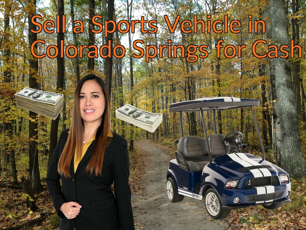 Sell a ATV, Dirt Bike, UTV, Snowmobile, Golf Cart, or CCV in Colorado Springs for Cash Fast!