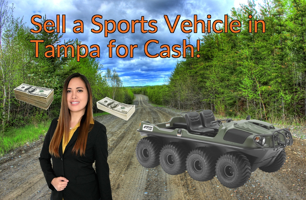 Sell a ATV, Dirt Bike, UTV, Snowmobile, Golf Cart, or CCV in Tampa for Cash Fast!