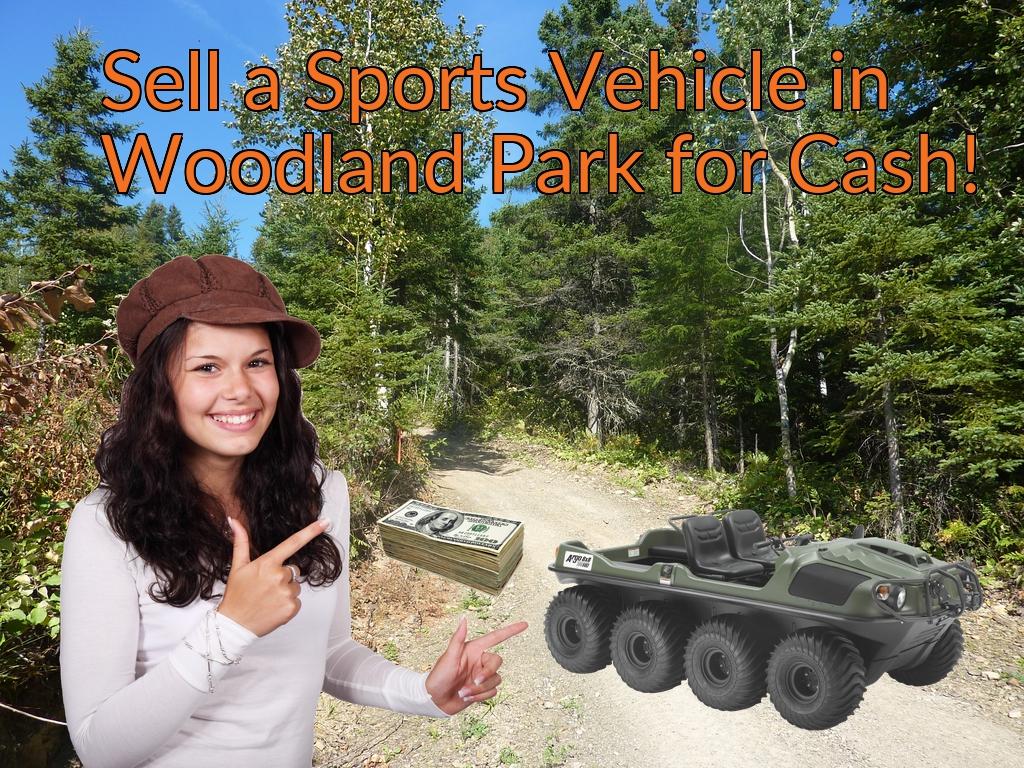 Sell a ATV, Dirt Bike, UTV, Snowmobile, Golf Cart, or CCV in Woodland Park for Cash Fast!