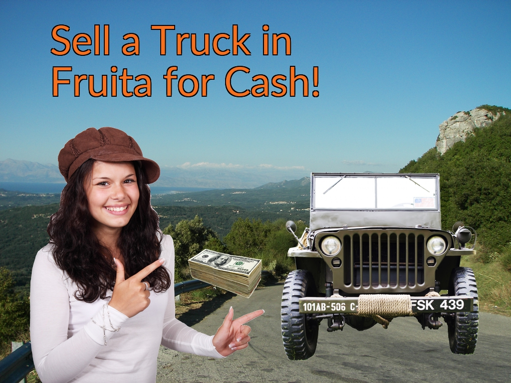 Sell a Truck, SUV, or Van in Fruita for Cash Fast!
