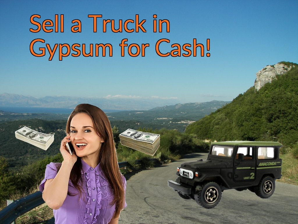 Sell a Truck, SUV, or Van in Gypsum for Cash Fast!