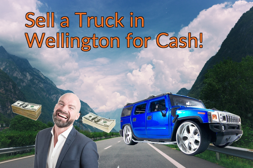 Sell a Truck, SUV, or Van in Wellington for Cash Fast!