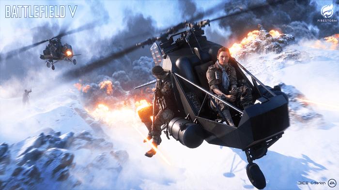 Battlefield V Firestorm Tasitlari