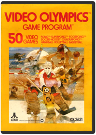 Video Olympics Atari 2600 Game Cartridge In Good Working Condition With No Damage Limited Quantities Stock Of This Title All Similar