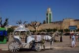 Tussen de 2 muren in Meknes