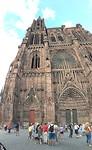 De grote kathedraal van Straatsburg