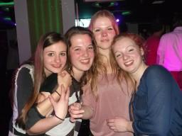 Emma, Renske, Michelle en Lotte