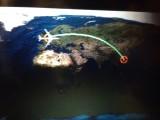 't is maar 11,5 uur vliegen :-(