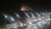 Uitzicht op pyramides