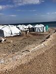 Vluchtelingen kamp Mavrovouni