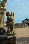 Beeld bij paleis Dresden