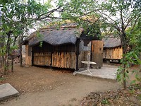 Onze hut in Kariba